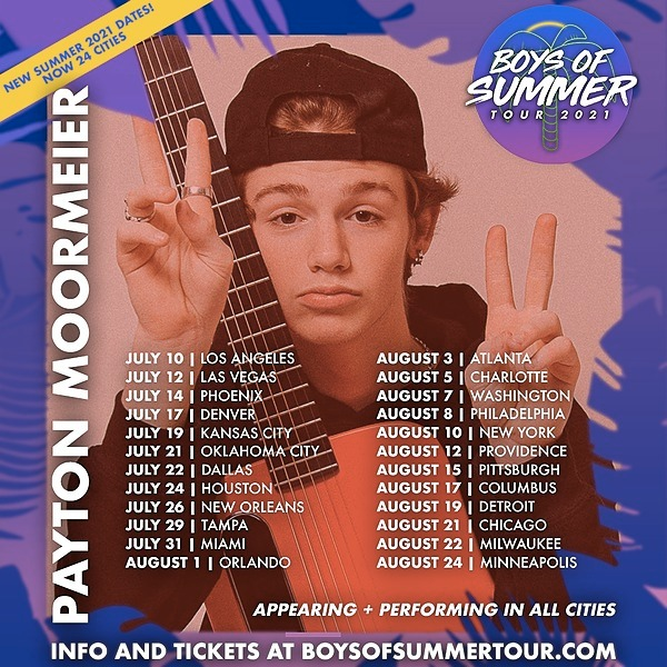 Catch Me On Tour This Summer!