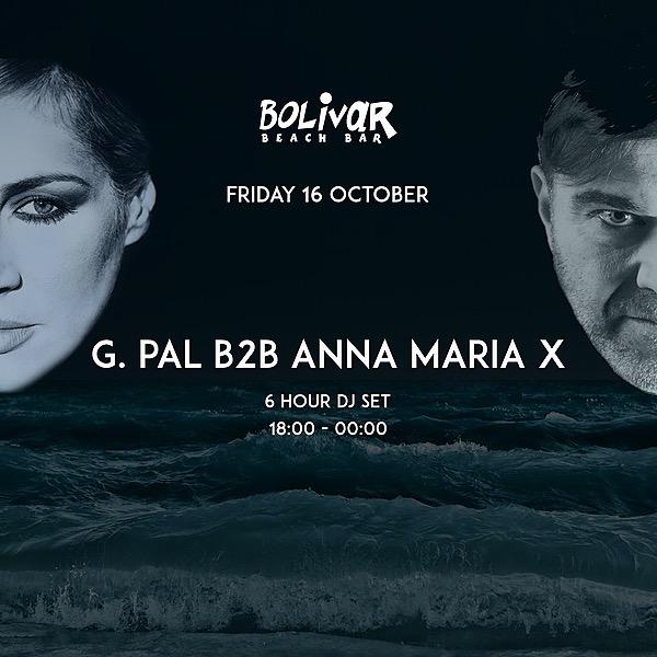 G.Pal b2b  Anna Maria X @Bolivar Beach Bar
