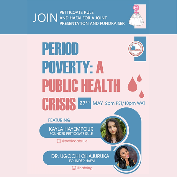 Girls Learn International Period Poverty Event Link Thumbnail | Linktree