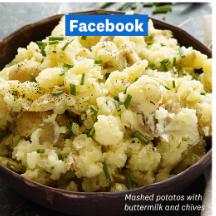 Chunky Mashed Potatoes Recipe