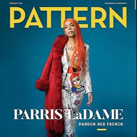 ParrisLaDame Pattern Magazine Cover & Article