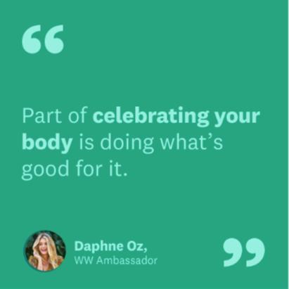 Meet our new WW Ambassador Daphne Oz!