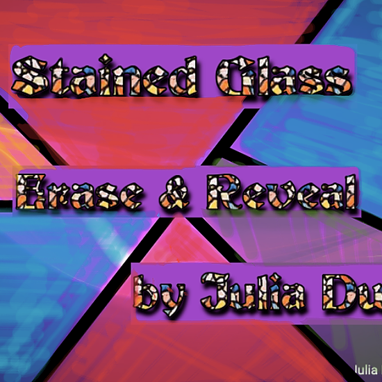 Stained Glass Writing: *An oldie but a goodie. This is one of my very first Jams.