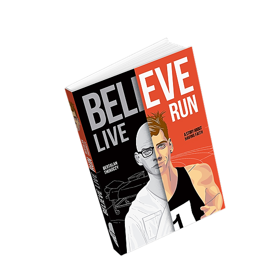 Believe, Live, Run | Available at Amazon