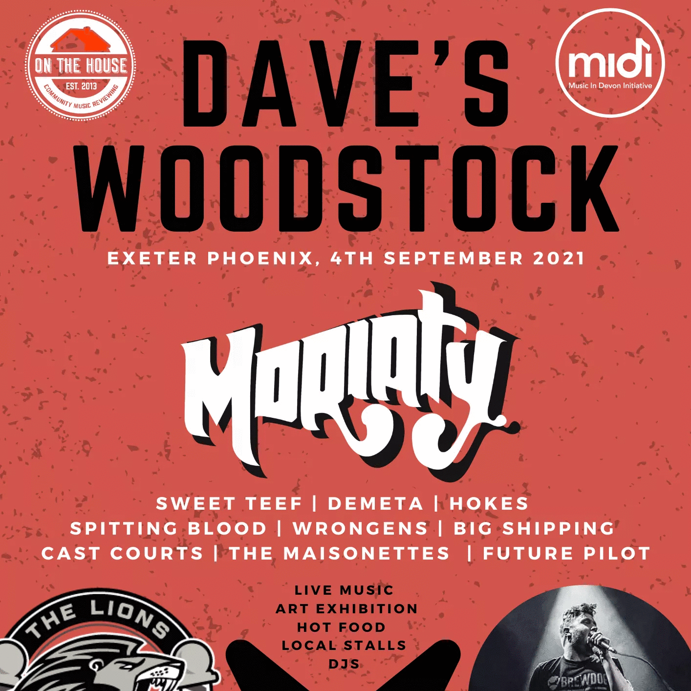 4th September - Dave's Woodstock - Charity Event (Exeter)