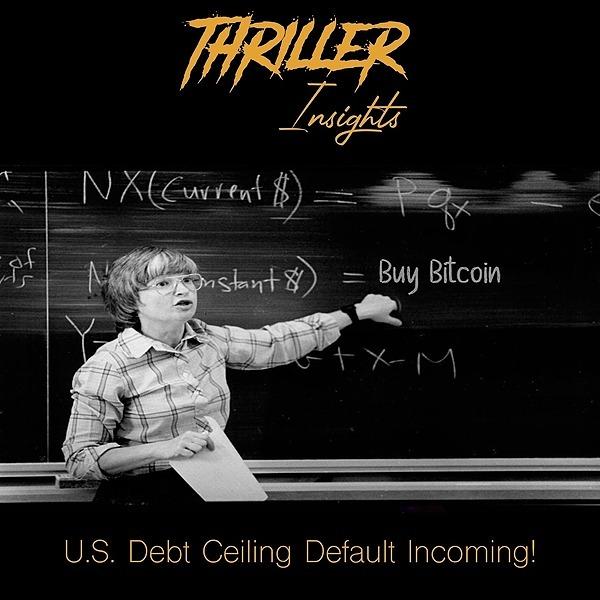 Car González 🎧 Thriller Insights - S5EP01: U.S. Debt Ceiling Default Incoming! Buy Bitcoin! Link Thumbnail   Linktree