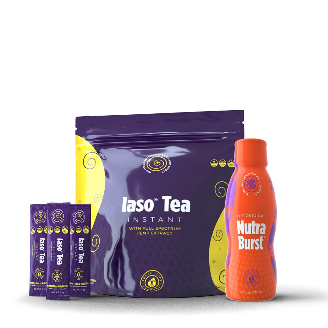 LEMON CBD DETOX TEA & NUTRABURST KIT