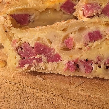 Itallian Easter Ham Pie Recipe