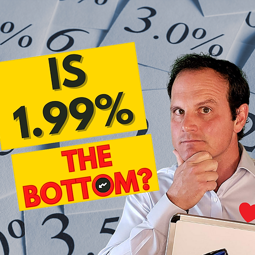 Is 1.99% the lowest and best mortgage rate?
