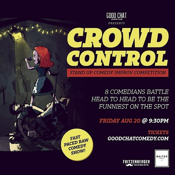 @goodchatcomedy Get tickets to Crowd Control | A Crowd Work Comedy Competition! [Aug 20] Link Thumbnail | Linktree