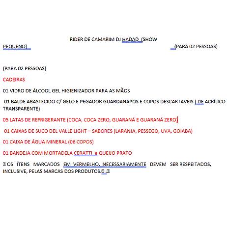 DJ HADAD RIDER CAMARIM PEQUENO (+800 PESSOAS) Link Thumbnail | Linktree