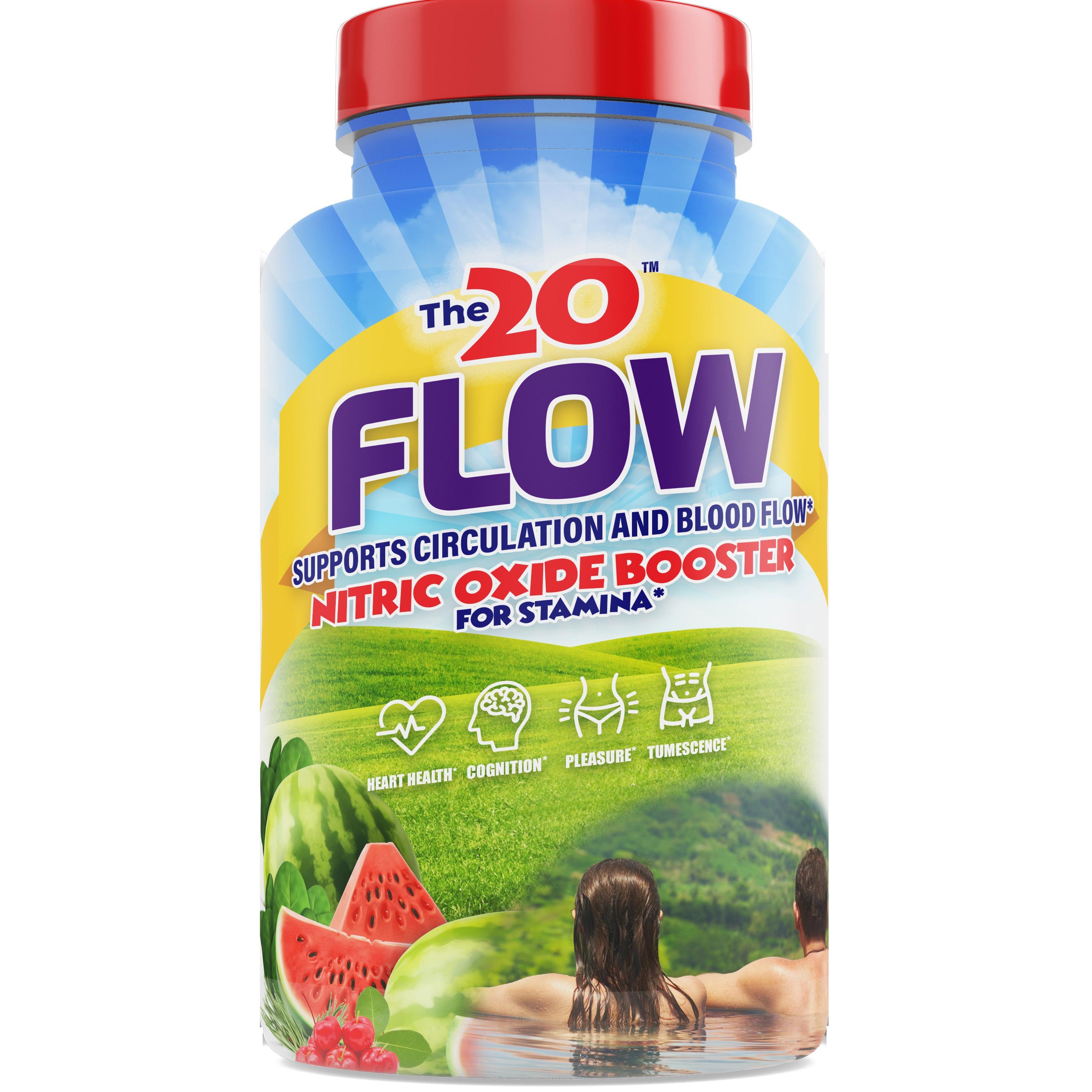 FLOW New blood flow supplement for genital pleasure.