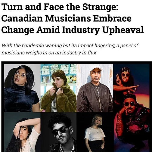 @anthonyoks Turn and Face the Strange: Canadian Musicians Embrace Change Amid Industry Upheaval Link Thumbnail   Linktree