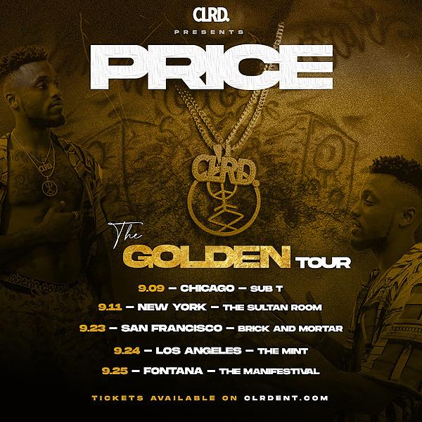 The Golden Tour (CLRD.Tour) Profile Image   Linktree