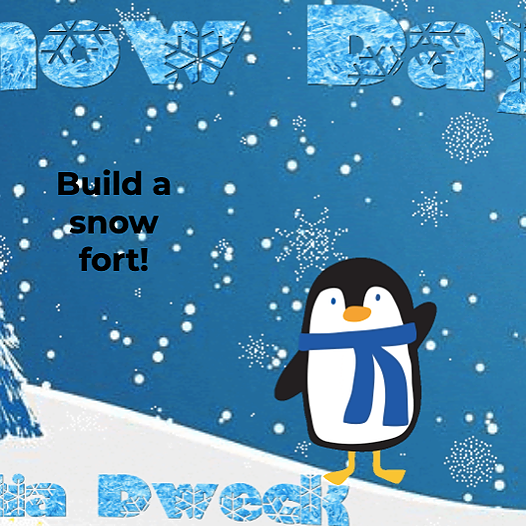 Snow Day: Design a Snow Fort! *STEAM up a cold day!