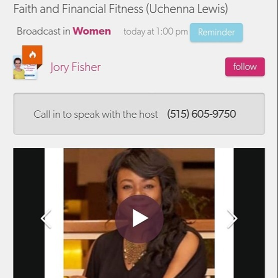 Faith & Financial Fitness - The Jory Fisher Show Interview