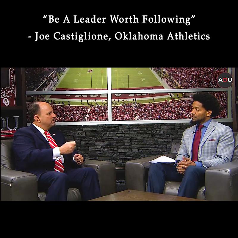 Spades Media Group Be A Leader Worth Following: Oklahoma's Joe Castiglione Link Thumbnail | Linktree