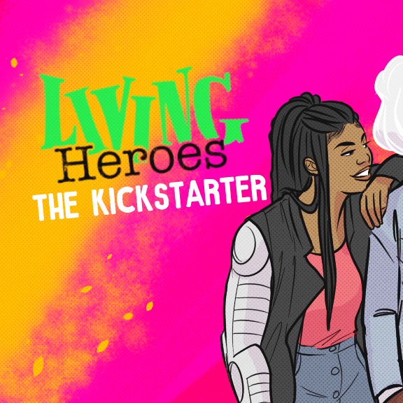 Kickstarter Living Heroes, fancomic
