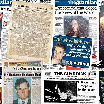 @guardian 1821-2021: the greatest Guardian front pages  A selection of Guardian front pages through the years. Photograph: Guardian Link Thumbnail | Linktree