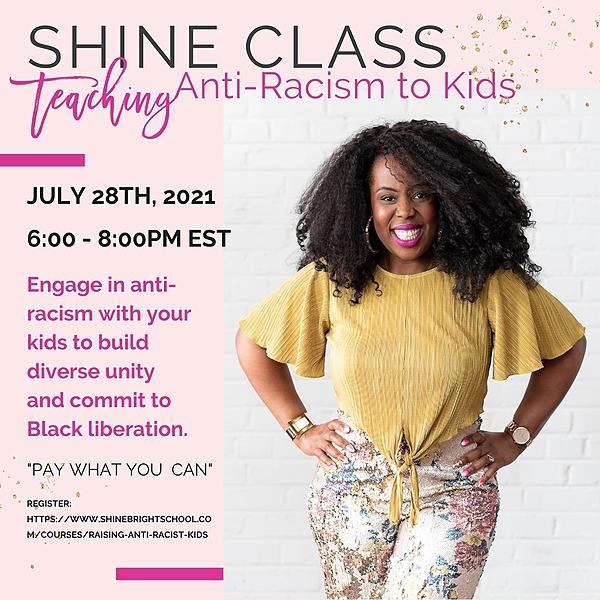 @moemotivate Shine Class: Teaching Anti-Racism to Kids  Link Thumbnail | Linktree