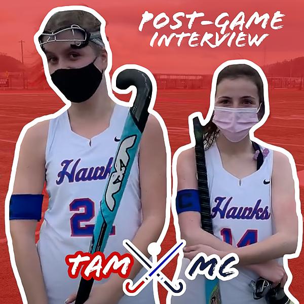 Field Hockey vs. MC - Postgame Interview