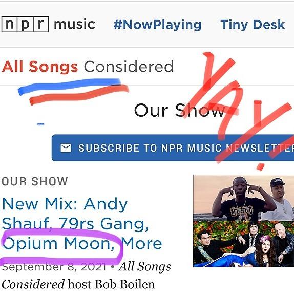 @opiummoon OPIUM MOON on NPR! Link Thumbnail | Linktree