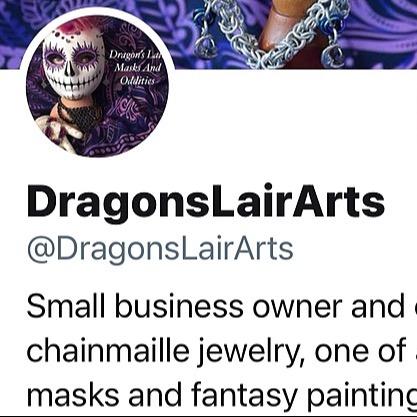 Dragon's Lair Masks Twitter Link Thumbnail | Linktree