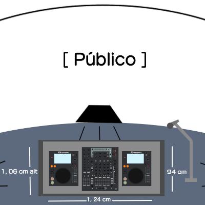 DJHADAD MAPA DE POSICIONAMENTO NO PALCO (TODOS OS RITMOS) Link Thumbnail | Linktree
