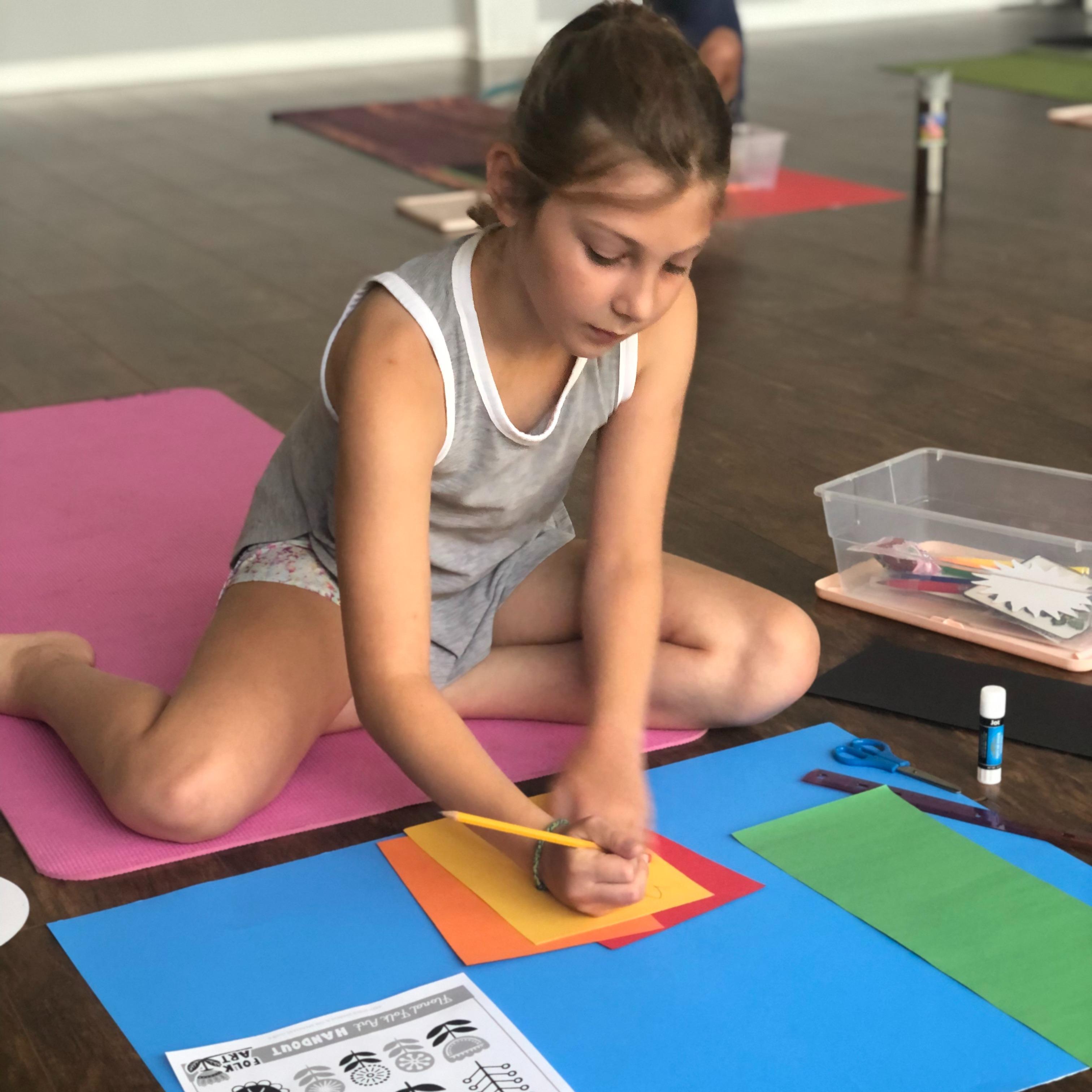 SUMMER:  Kids Yoga
