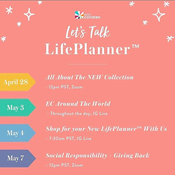 @DesireePlans 💖 Affiliate  FREE Erin Condren Planner Workshops Link Thumbnail | Linktree