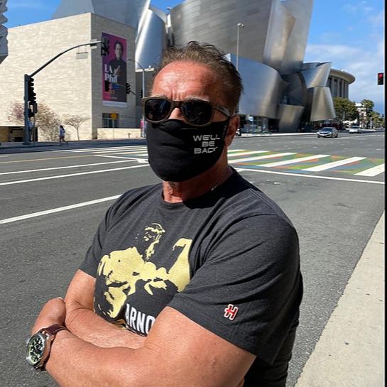 We'll Be Back Mask