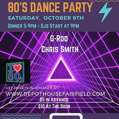DEPOT_HOUSE 80's Dance Party 10/9 Advanced Link Thumbnail | Linktree