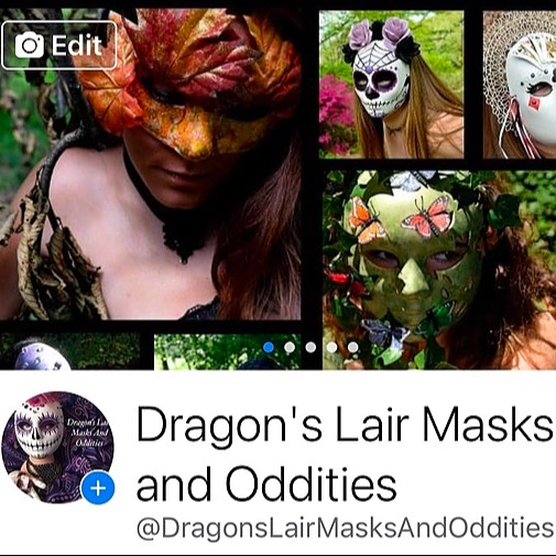 Dragon's Lair Masks Facebook Link Thumbnail | Linktree