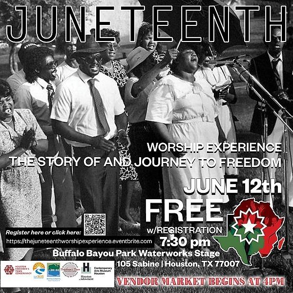 June 12: Juneteeth Worship Experience