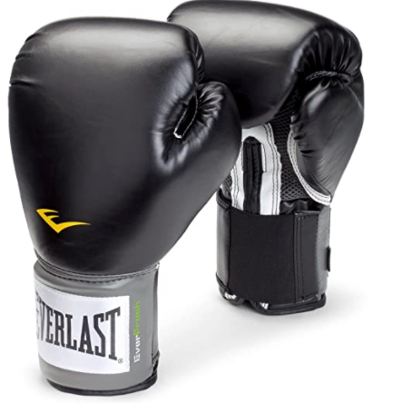 Middlebury College Boxing Club Everlast Pro Style Training Gloves (16 oz.) Link Thumbnail   Linktree