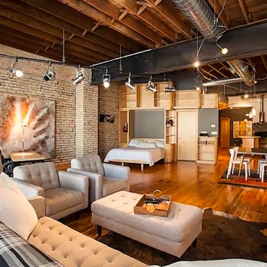 Andrew J. Young Andrew & Jeremy's Downtown Fargo Studio Airbnb Link Thumbnail | Linktree