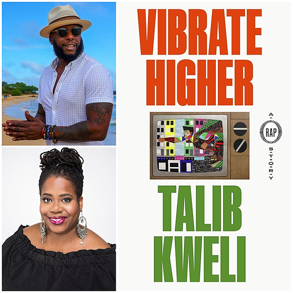 April 8, 2021: The Center for Black Literature Celebrates National Poetry Month with a Special Conversation featuring Hip Hop Lyricist Talib Kweli and Journalist Akiba Solomon.
