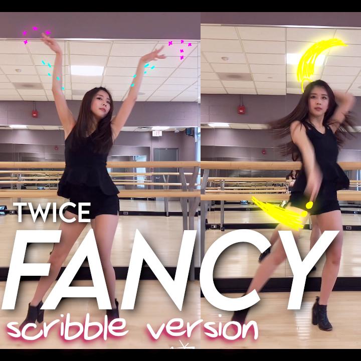 [Myla TV] TWICE - FANCY (scribble effect version) dance cover