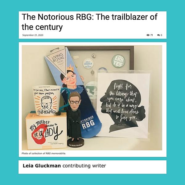 Leia Gluckman - The Notorious RBG