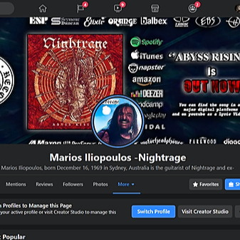 Marios Iliopoulos official Facebook page videos