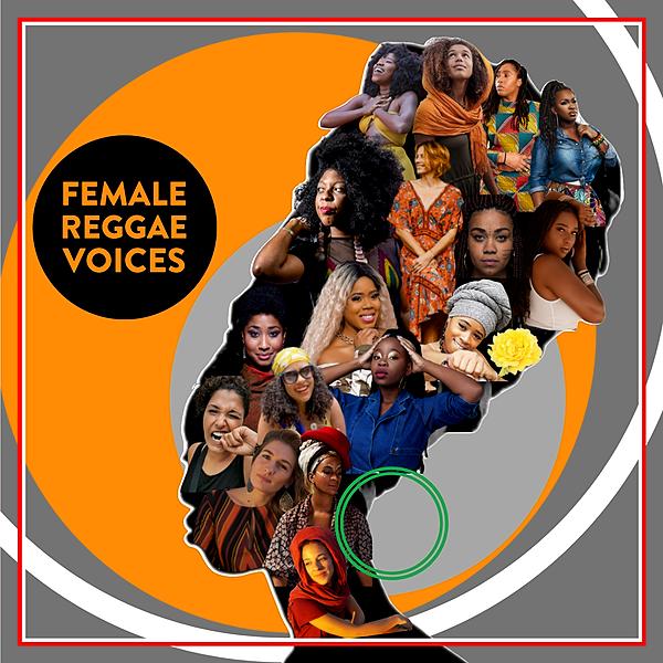 FEMALE REGGAE VOICES - Riddim Selection (Album)