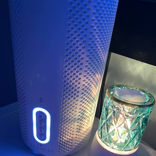 Safely Scented Scentsy Air Purifier Link Thumbnail | Linktree