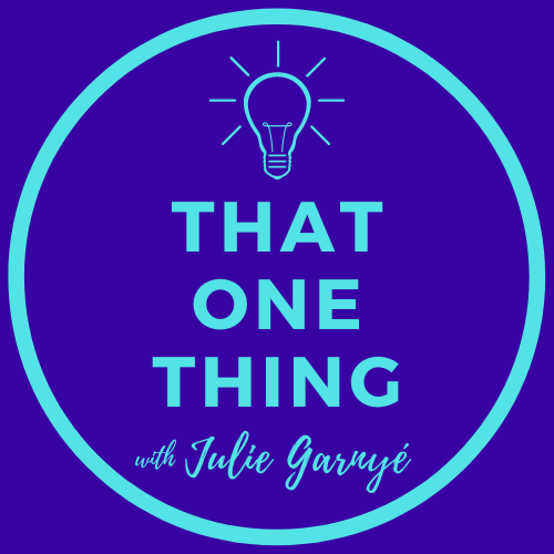 THAT ONE THING - Episode 001 - Special Guest JIM CARUSO
