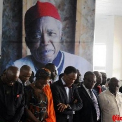 RIP Achebe! Photos from Achebe's Funeral