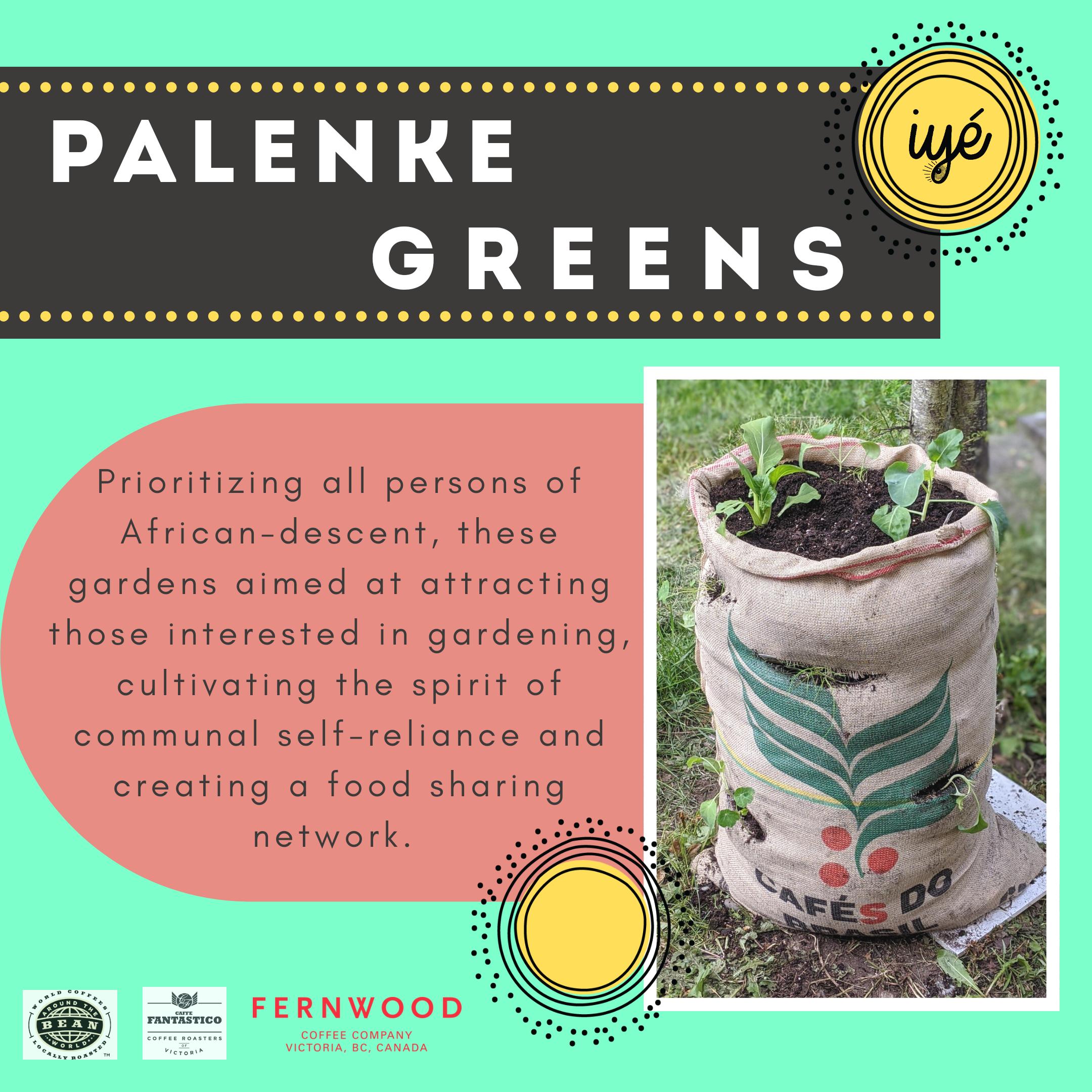 Palenke Greens // Registration