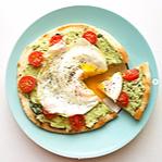 Avocado and Egg Pizza Recipe