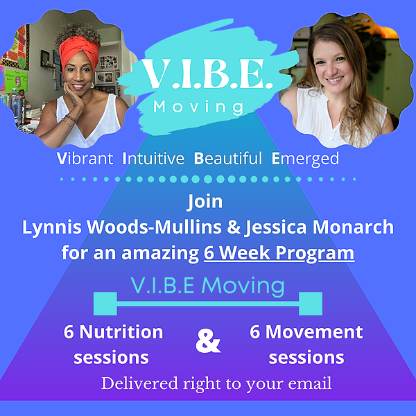 V.I.B.E. Moving Classes - Drop Those Ponds and Inches, Boost Your Immune System