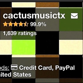 @Cactus_Music Discogs Store Link Thumbnail | Linktree
