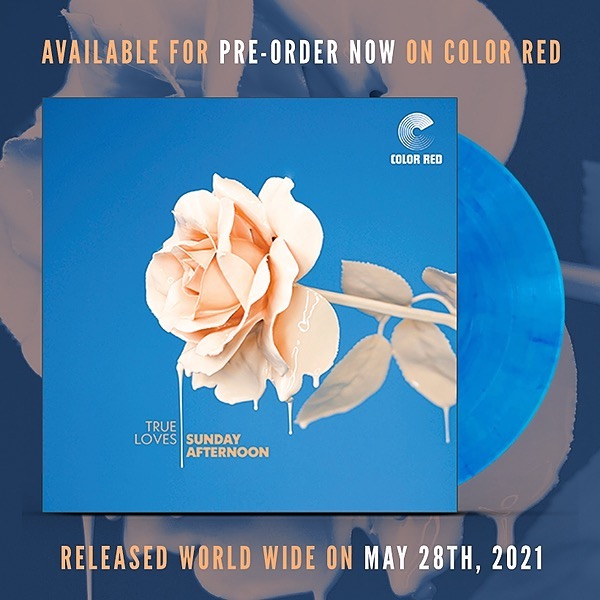 """Pre-order """"Sunday Afternoon"""" LP on Color Red"""