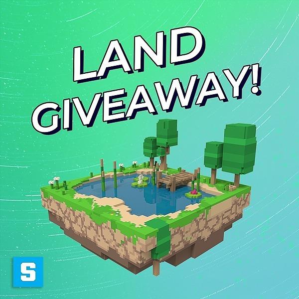 The Sandbox LAND Giveaway Link Thumbnail | Linktree